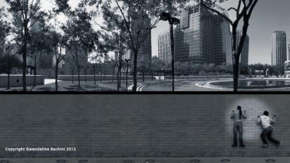 Beijing, field to dance (model box2008)