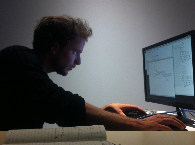 Sylvain Delbart (patch Max/MSP) à la BML