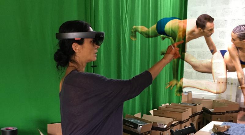 Atelier danse et réalité augmentéen°1