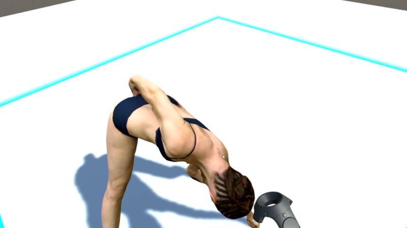 Work in process : A#3 – In MOTU-  VR –   tests de la perception (HTCVIVE)