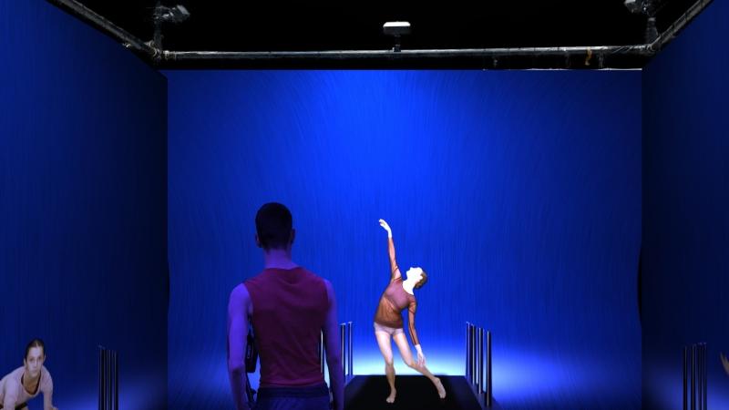 Altro Canto, autre étude à danser / installation chorégraphique interactive2018