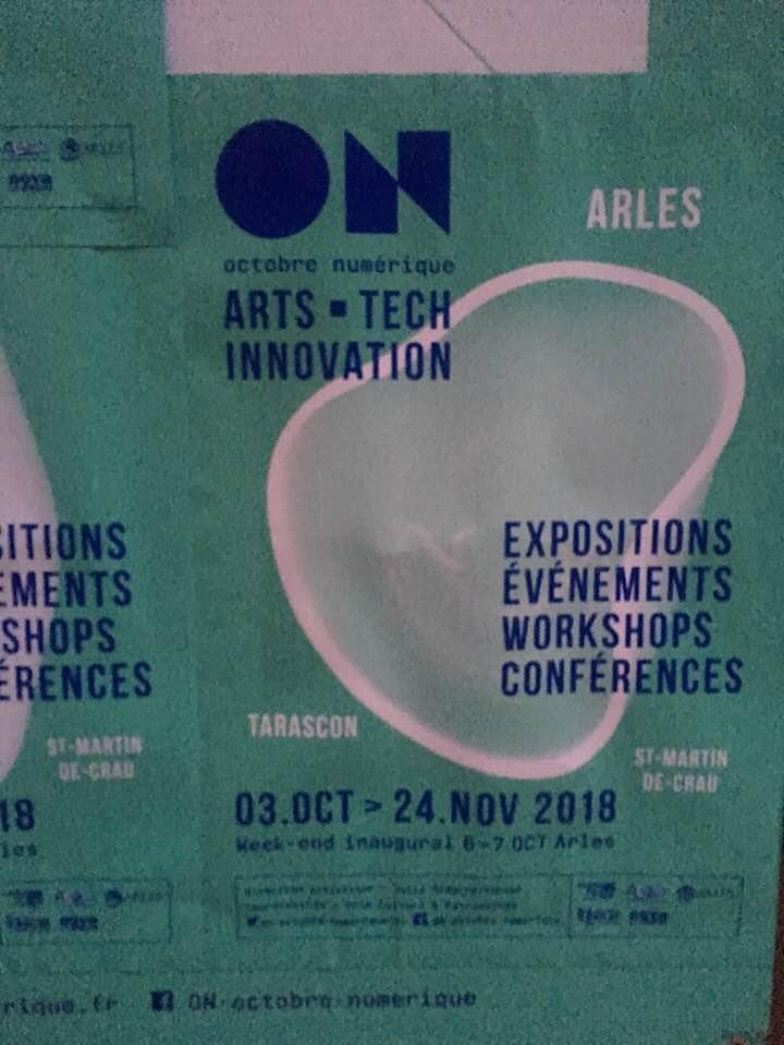 A#4 oups ! apps danse en réalité augmentée au Festival ON (Arles18)