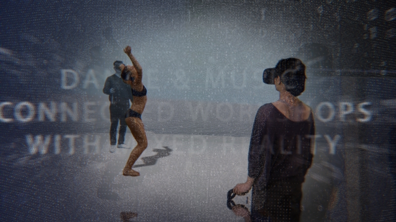 A#3-MOTU (VR) and BIFACE, Apps for dance (AR) from december 12-13th at Stereopsia(Brussells)